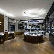 90平米现代风格商铺珠宝店装修效果图