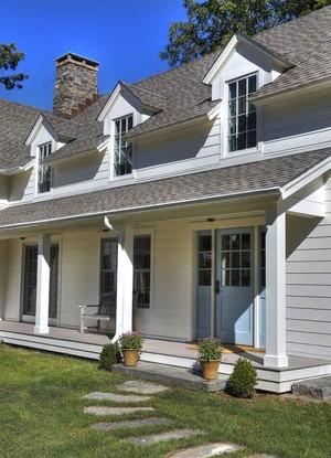 欧式风格别墅外观装修效果图赏析