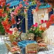 地中海风格大户型阳台花园设计装修效果图