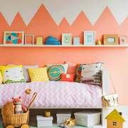现代简约风格温馨女生儿童房装修效果图