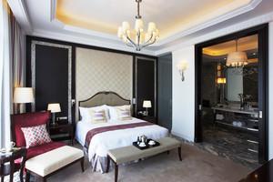 25平米后现代风格卧室装修设计效果图