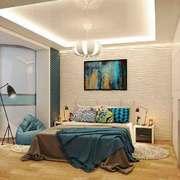 后现代风格时尚创意卧室装修效果图