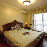 20平米现代风格卧室飘窗设计效果图