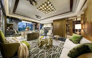 现代风格大户型室内整体装修效果图赏析