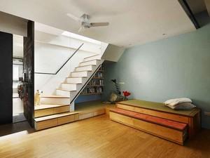 109平米现代简约风格小复式楼装修效果图