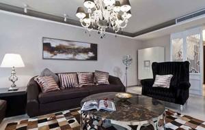 162平米新古典主义风格大户型室内装修效果图案例