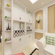 简欧风格小户型客厅玄关设计效果图鉴赏