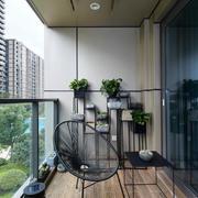 120平米后现代风格阳台装修效果图鉴赏