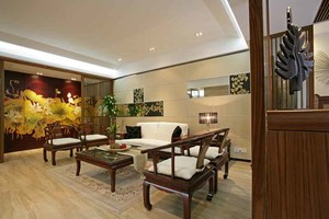 150平米中式风格大户型室内装修效果图赏析
