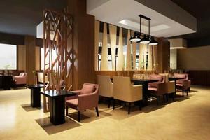 80平米现代风格中餐厅设计装修效果图