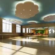 100平米现代简约风格幼儿园室内装修效果图