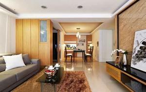 现代简约风格两室两厅婚房设计效果图赏析