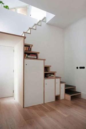 简约风格小复式楼楼梯装修效果图赏析