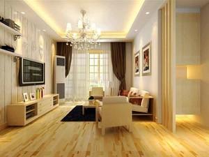 80平米简约风格精致两居室设计装修效果图