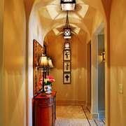古典欧式风格大户型入户玄关柜装修效果图