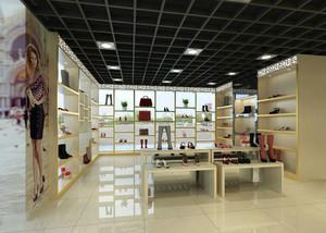 50平米现代风格鞋店装修效果图赏析