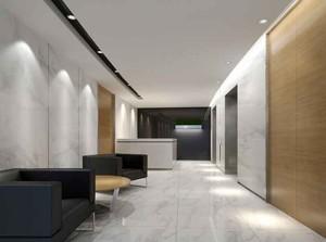 120平米现代风格办公室室内设计装修效果图