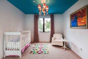 简欧风格时尚创意婴儿房设计装修效果图