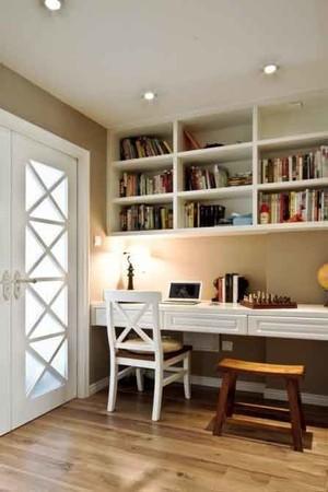 现代风格精致简约书房设计装修效果图