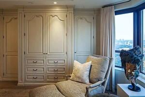 简欧风格卧室整体衣柜设计装修效果图赏析