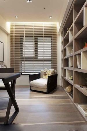 现代风格大户型书房设计装修效果图