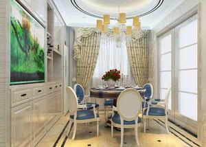 典雅高贵欧式风格大户型室内装修效果图赏析