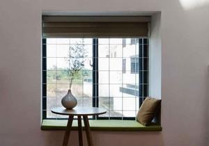 恬静日式风格飘窗设计装修效果图