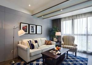150平米现代美式风格复式楼室内装修效果图赏析