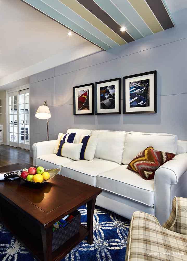 150平米現代美式風格復式樓室內裝修效果圖賞析