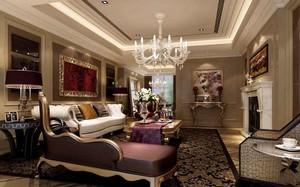 179平米新古典主义风格大户型室内装修效果图鉴赏
