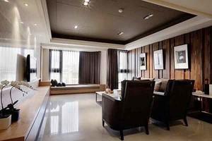 109平米新中式风格三室两厅室内装修效果图赏析