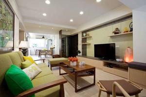 宜家风格轻松舒适两室两厅室内装修效果图赏析