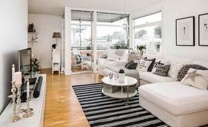 50平米现代简约风格一居室小户型装修效果图