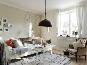 50平米现代简约风格单身公寓装修效果图赏析