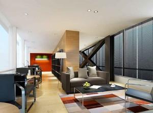 60平米现代简约风格小型办公室装修效果图赏析
