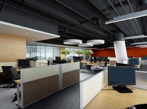 109平米现代风格办公室装修效果图赏析