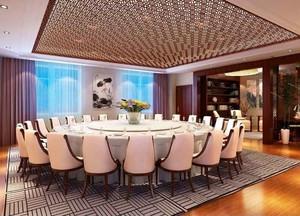 70平米简欧风格五星级酒店包厢装修效果图