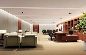 60平米现代风格老总办公室装修效果图赏析