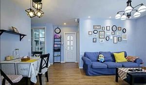 151平米地中海风格复式楼室内装修效果图案例