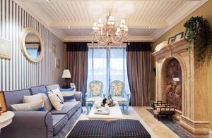 155平米地中海风格大户型室内装修效果图