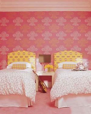简欧风格粉色梦幻女生儿童房装修效果图大全