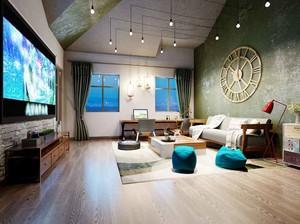 80平米时尚后现代风格室内装修效果图赏析