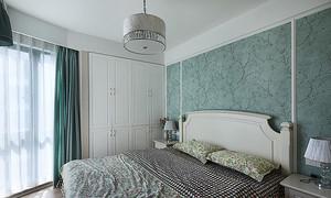 美式风格自然舒适三室两厅室内装修效果图案例