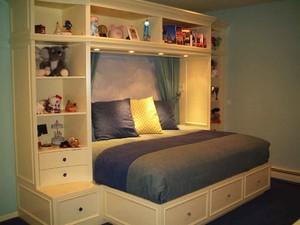 简欧风格两居室儿童房装修效果图