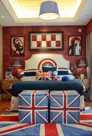 经典美式风格阳光儿童房间装修效果图