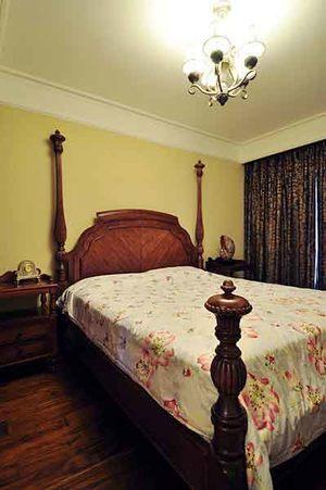 133平米美式混搭风格两室两厅室内装修效果图