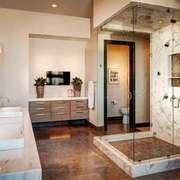 欧式风格精致卫生间淋浴房装修效果图
