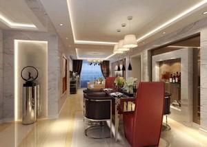 99平米简欧风格两室两厅室内装修效果图鉴赏