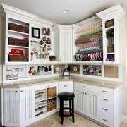 现代简约美式风格小厨房装修效果图赏析