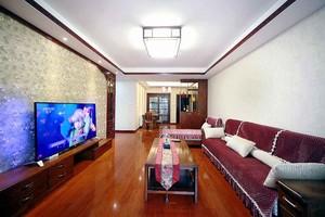 140平米新中式风格大户型室内装修效果图赏析